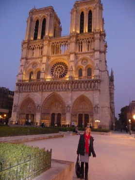 Notre Dame At Twilight