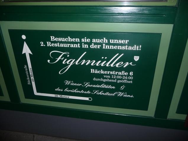 Figlmuellers for authentic Austrian cuisine