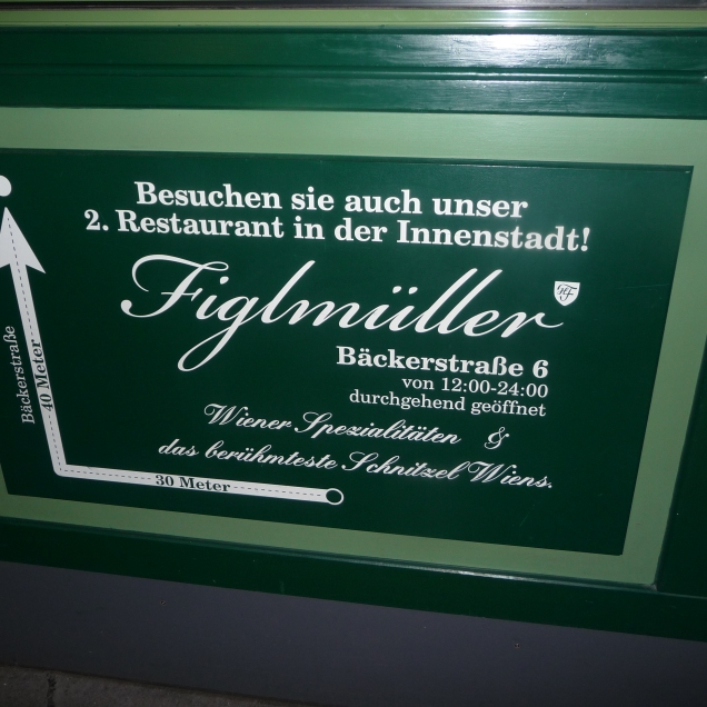 Figlmuellers for authentic Austrian cuisine
