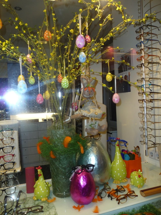 Easter decorations Vienna style
