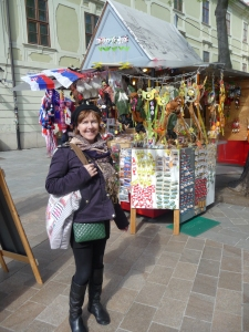 Checking out the Easter Markets in Bratislava