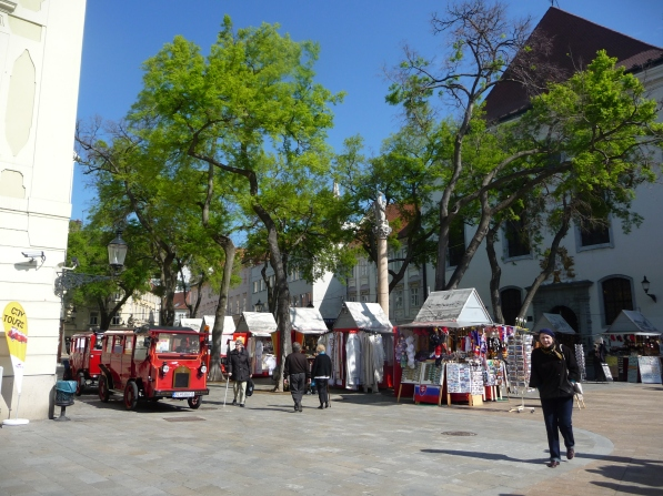 Main Square Budapest Easter Markets
