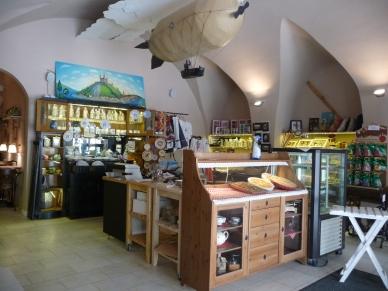 Inside Cafe Pressburg Bratislava