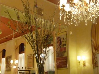 Cafe Weimar Easter Tree