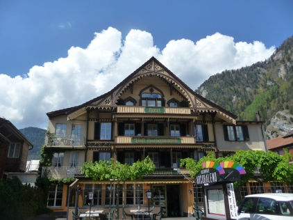 Old building in Altstadt Interlaken
