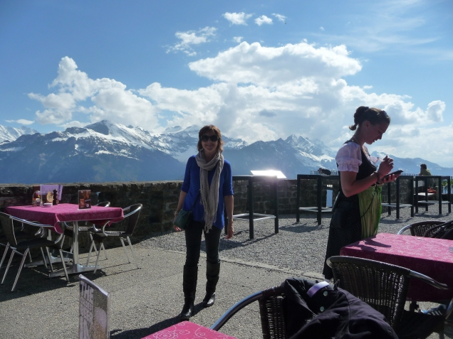 Bergrestaurant Harder Kulm Bernese Oberland