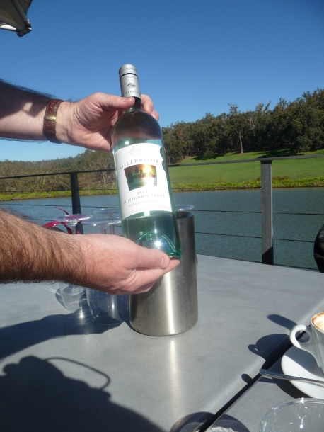 Sampling the local wine Millbrook winery Sunday lunch