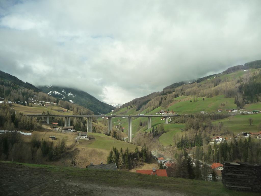 Europa Bridge (Europabruecke) near  Innsbruck Austrai