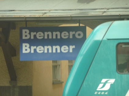 Brenner Station the highpoint of the rail line