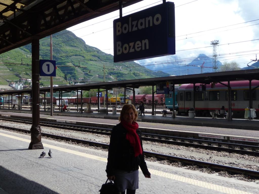 Bolzano Bozen Station Suedtirol Northern Italy