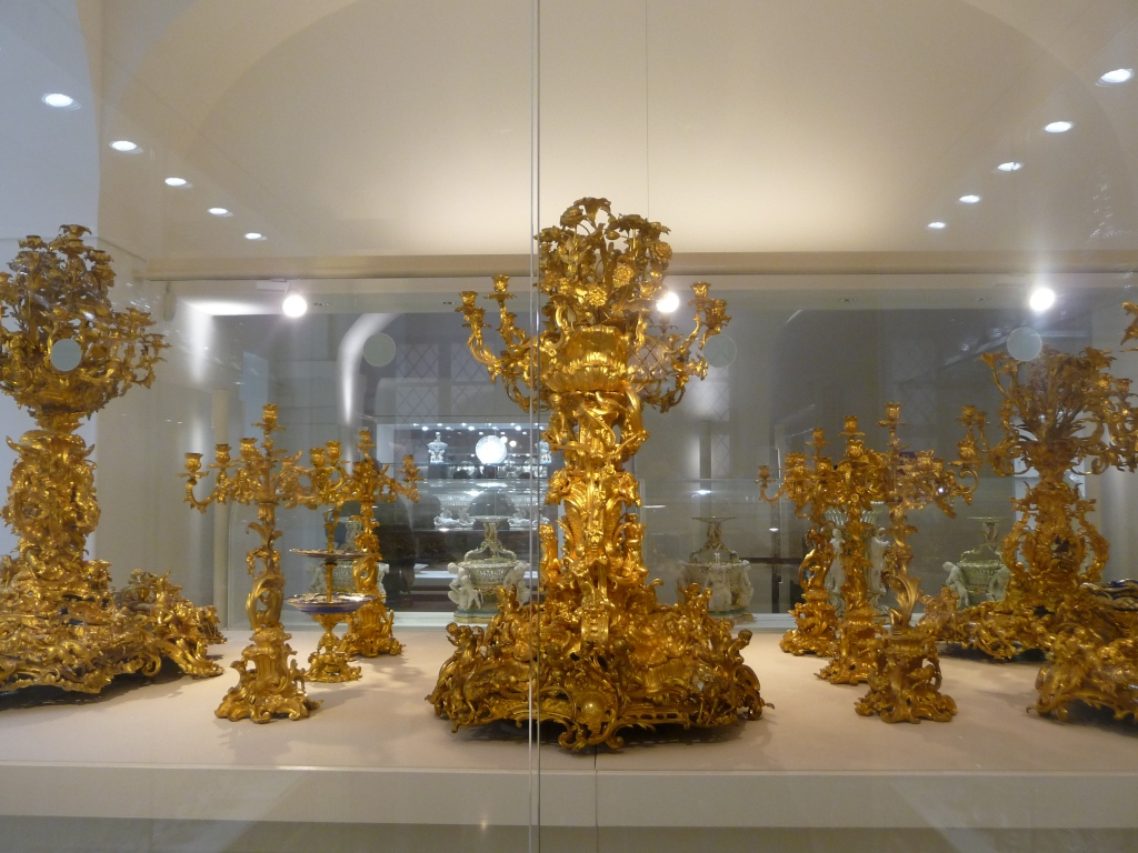 Ornamental Table Decorations at the Imperial Silver Collection Hofburg Vienna
