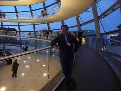 Monsieur Le Chic Inside the Reichstag Building