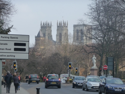 View Towards The Minster York