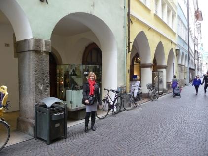 Cobbled streets Bolzano