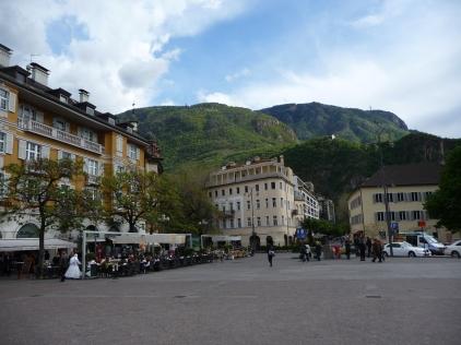Main piazza Bolzano