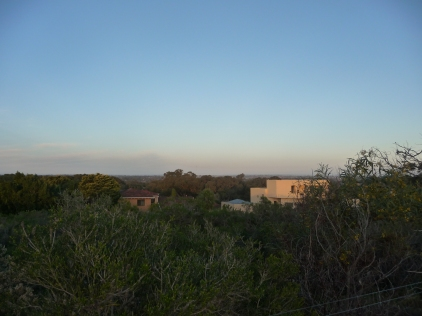 View Towards The Darling Hills to the east of Perth