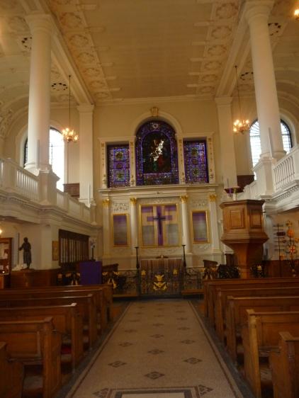 Interior of St Botolph's Aldgate