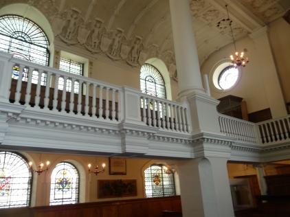 Upper floor gallery