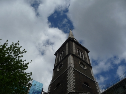 Spire St Botolph's Aldgate