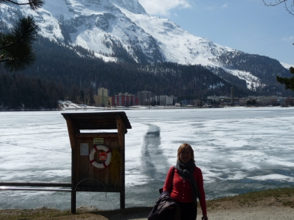 Lakeside in St Moritz