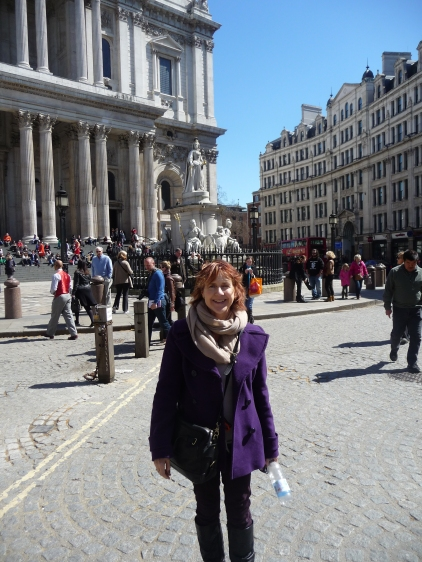 Outside St Paul's Cathedral