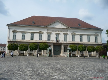 Alexander (Sandor) Palace now home to the Hungarian President