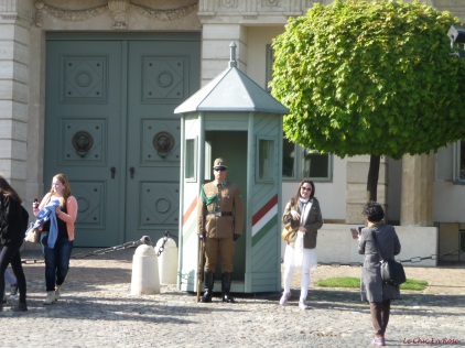 Guard Alexander Palace Buda