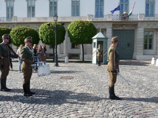 The Changing of the Guards Ceremony