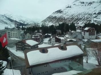 Roof tops at Andermatt