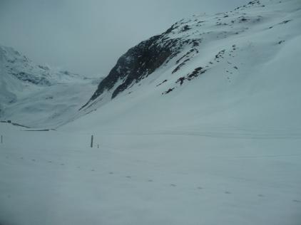 Oberalp Pass near Andermatt