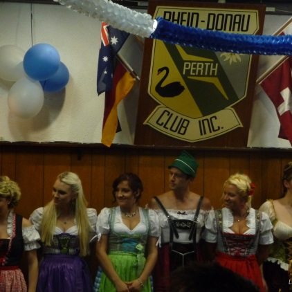 Best dressed dirndl competition