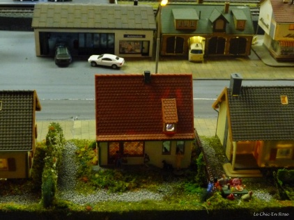 Even the little houses looked real