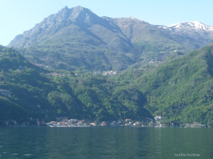 Approaching Menaggio on Lake Como