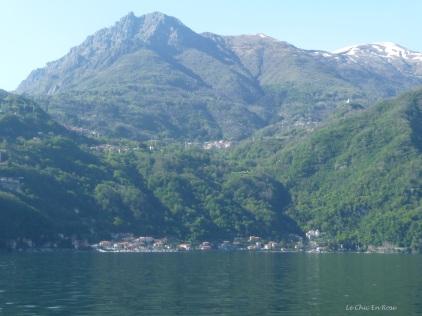 Approaching Menaggio on Lake Como