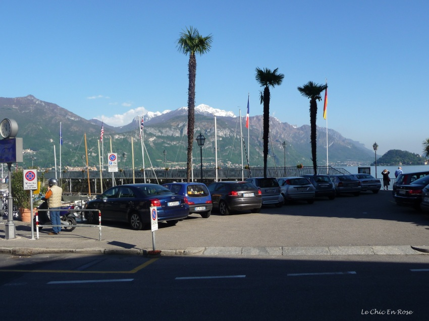 Down by the harbour in Menaggio