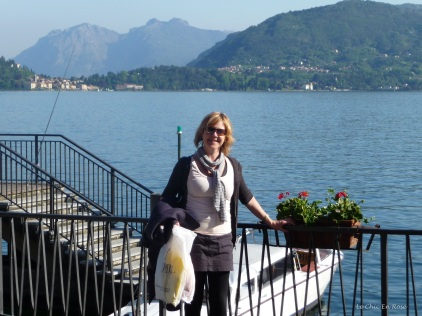 At Menaggio overlooking Lake Como