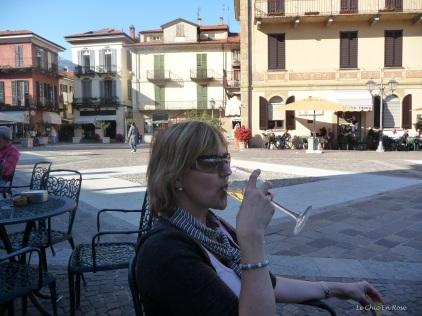 Aperitivos at the Hotel Du Lac Menaggio