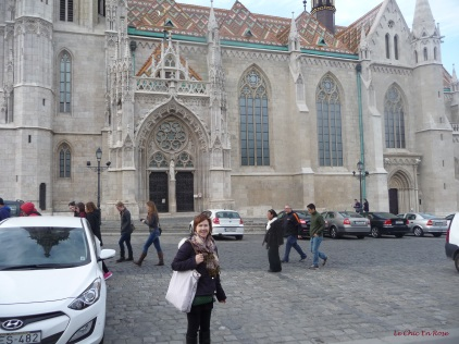In front of Matthias Church Buda Castle District