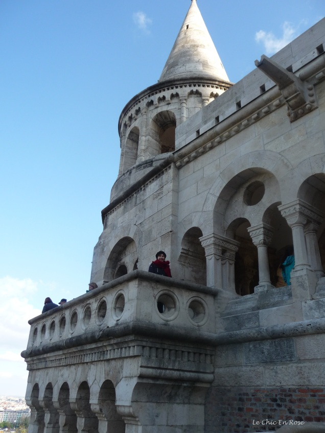 Wandering round the turrets and towers of Fisherman's Bastion