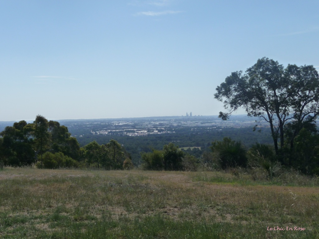 View back towards Perth from the Darling Scarp