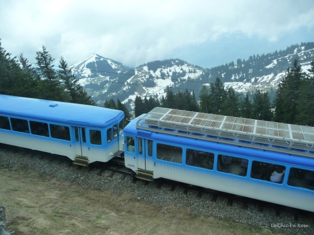 Cogwheel railway from Arth-Goldau to Rigi Kulm
