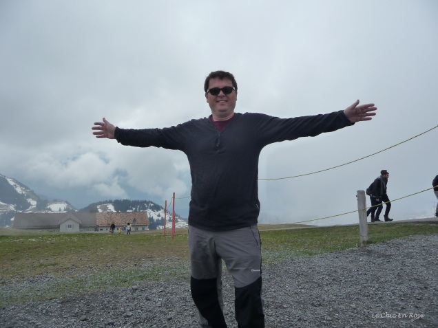 Monsieur Le Chic at Rigi Kulm