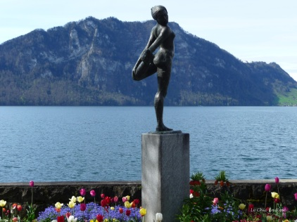 Dancing Statue Weggis