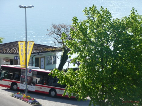 Buses also go regularly towards Schwyz or Kuessnacht where you can connect with a train to Lucerne