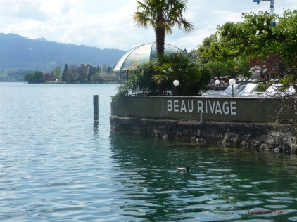 The Beau Rivage Hotel in Weggis enjoys a delightful view across Lake Lucerne