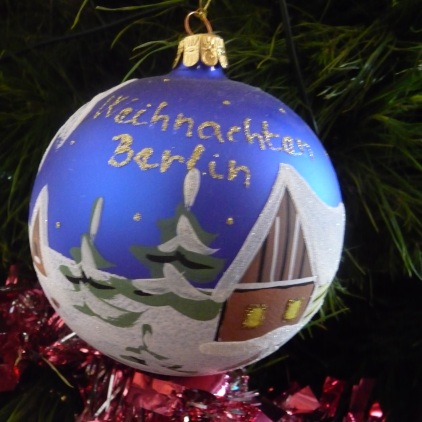 "My treasured ""Weihnachten"" Christmas ornament from the Berlin Christmas Markets"