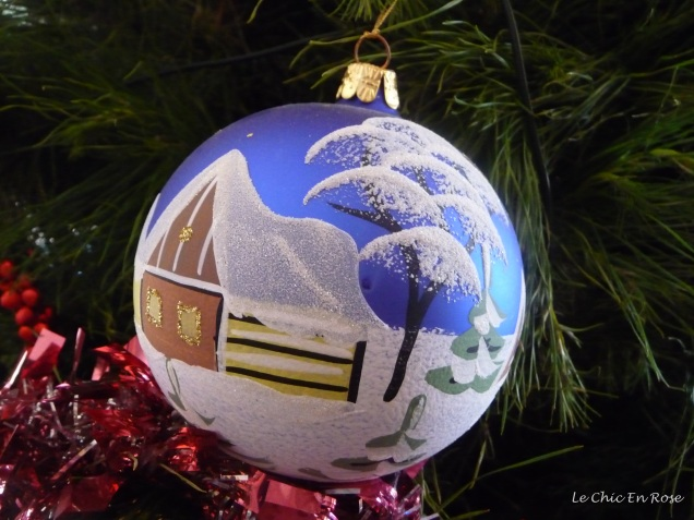"""My treasured """"Weihnachten"""" Christmas ornament from the Berlin Christmas Markets - reverse side"""