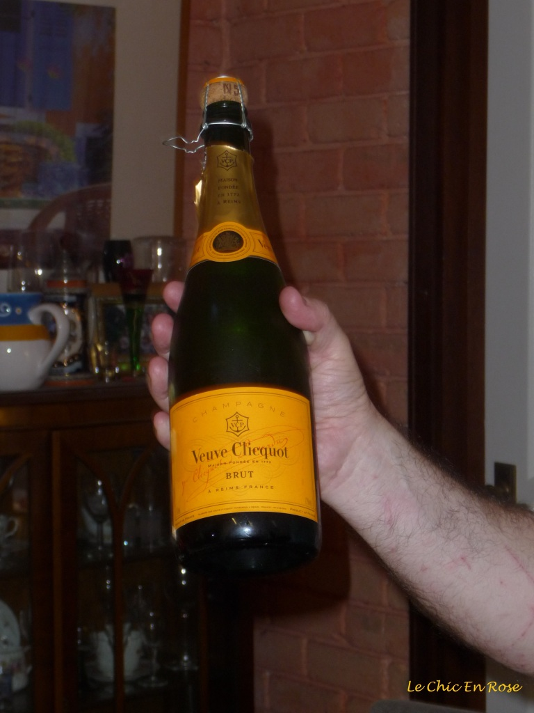 Champagne at Christmas!
