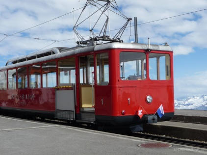 Vitznau to Rigi Kulm Train