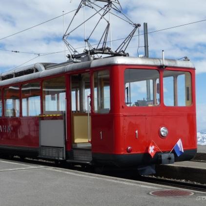 Vitznau to Rigi Kulm Train